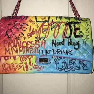 NWOT Graffiti Travel/Laptop Bag LARGE